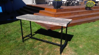 Driftwood Sofa table